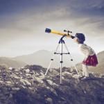 Kindergeburtstag Weltraum: Ab in die Sternenwarte