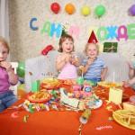 Abendessen am Kindergeburtstag