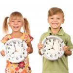 Kindergeburtstags Motto: Uhrzeit