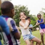 Den Kindergeburtstag im eigenen Garten feiern