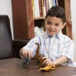 Kindergeburtstag für kleine Dinosaurier Forscher