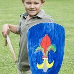 Wie vor fünfhundert Jahren: Der Ritter Kindergeburtstag