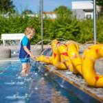 Nasses Vergnügen, der Kindergeburtstag im Schwimmbad