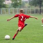 Ein Fußball-Turnier am Kindergeburtstag