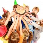 Kuchen für den Kindergeburtstag