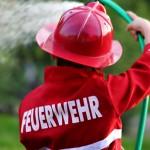 Kindergeburtstags Motto: Feuerwehr