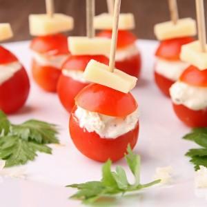 Tomaten-Fingerfood für den Kindergeburtstag